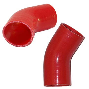45 Degree Red Hoses