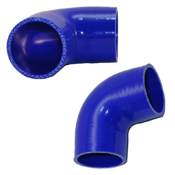90 degree blue hoses