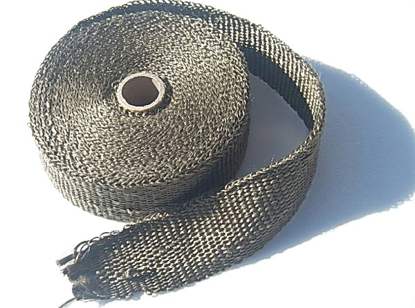Titanium Exhaust Heat Wrap