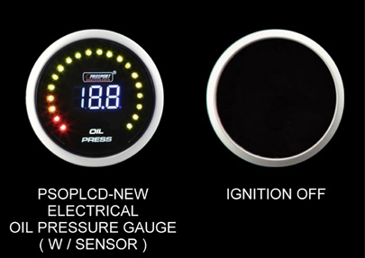 Prosport Oil Pressure Digital Gauge