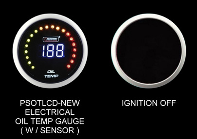 Prosport Oil Temperature Digital Gauge