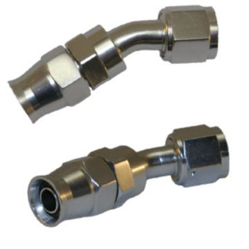 Stainless Steel Lines 30 Degree Adaptor