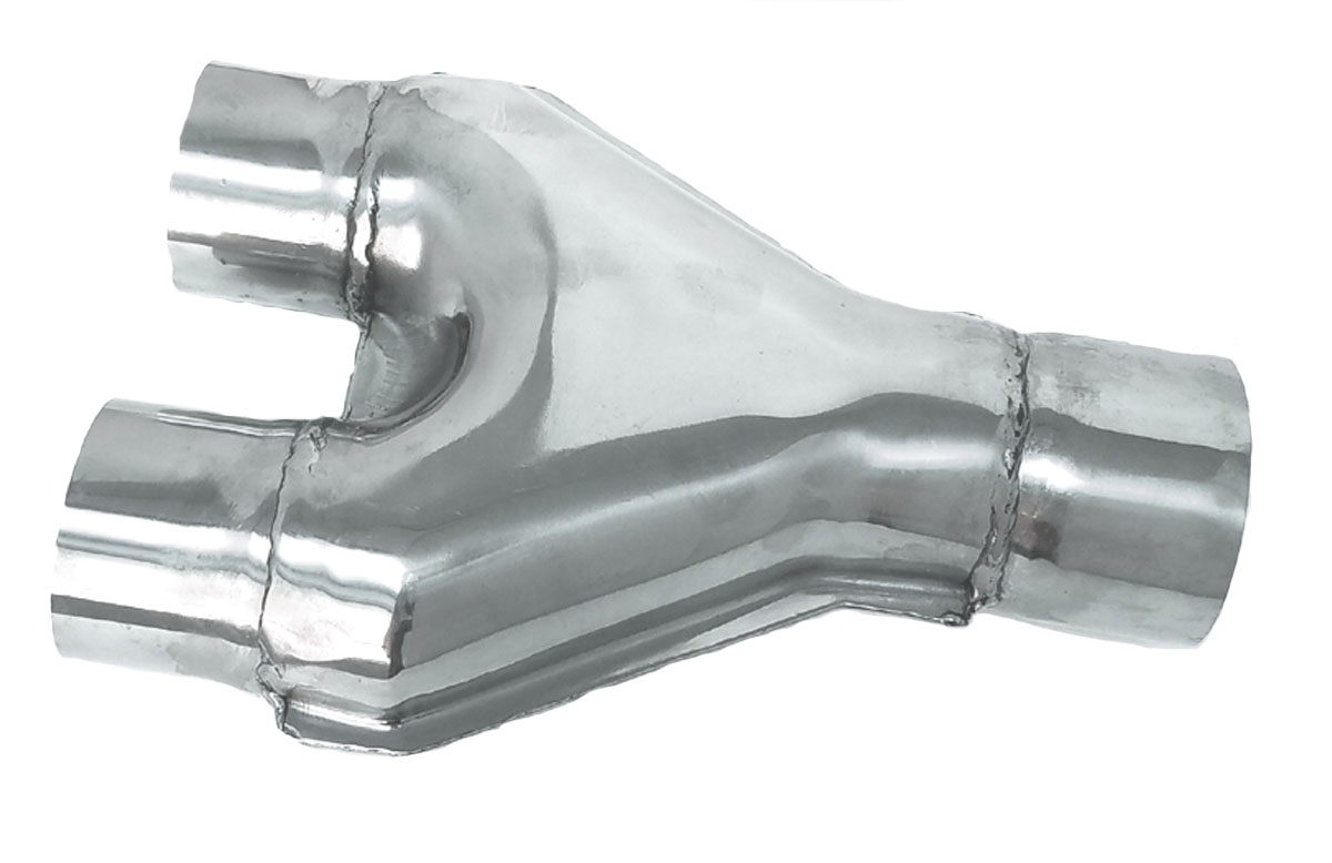 Y Reducer Exhaust Pipe